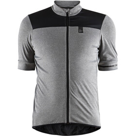 Craft Point Fietsshirt korte mouwen Heren grijs